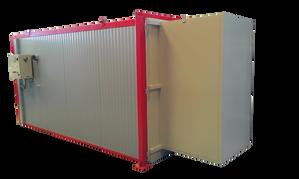 Horno secadero para productos cerámicos