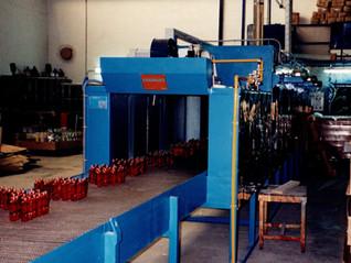 Hornos de cinta para decoración de cristal.