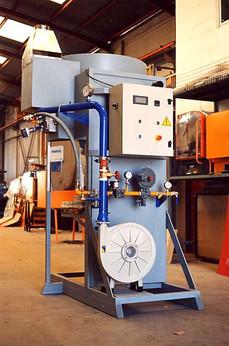 Horno de laboratorio a gas para 1.500ºC