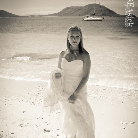 Trash the Weddingdress