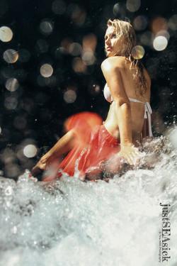 Conceptual Waterfall Shooting