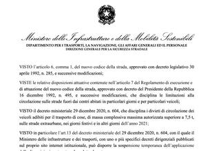Itálie o měsíc prodlužuje výjimku ze zákazu jízdy