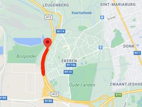 V noci z pátku na sobotu bude uzavřena dálnice A12 do Antverp
