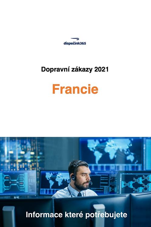 Dopravní zákazy Francie 2021