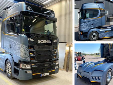 Mistrovské dílo od mistra Scania