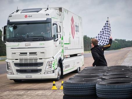 V Německu byl dosažen světový rekord v dojezdu elektrického kamionu