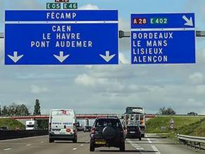 Dočasné výjimky ze zákazu jízdy ve Francii