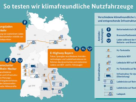 Němci vybudovali infrastrukturu pro testování alternativních pohonů v reálném provozu