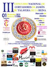 III Concurso Nacional de Cortadores de jamón.
