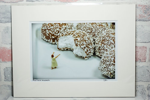 Must have snowballs (2) - A4 mounted print