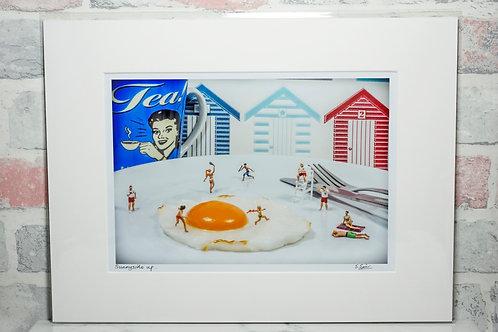 Sunnyside up - A4 mounted print