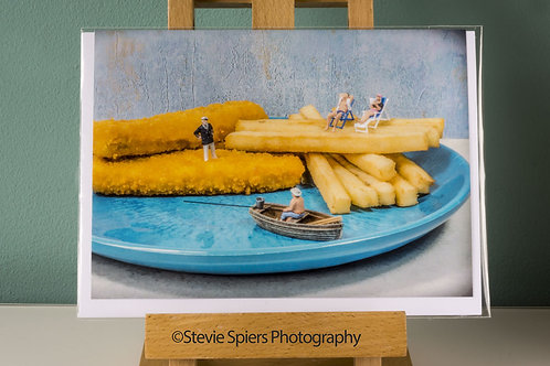 Seaside Supper - Greeting Cards