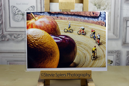 The Fruit Velodrome - Greeting Cards