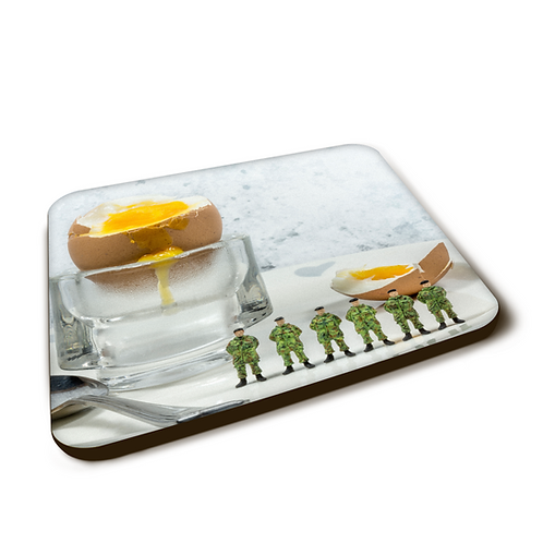 Egg and Soldiers - Coaster