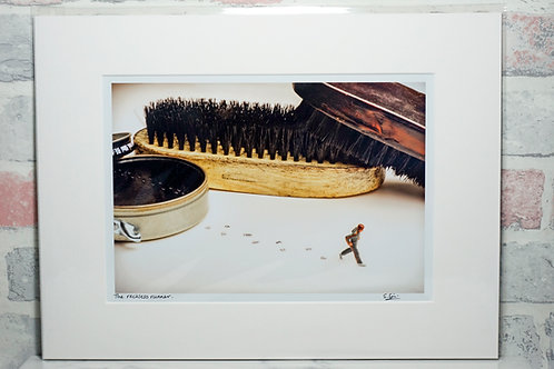 The Reckless Runner - A4 mounted print