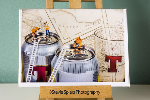 Thirsty Work - Greeting Cards