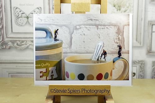 Deep Tea Diving - Greeting Cards