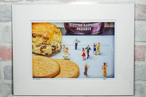 Tea Dance - A4 mounted print