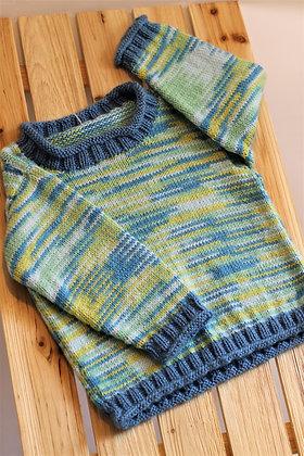 Tricot-100 % acrylique Les tricots d'Eva