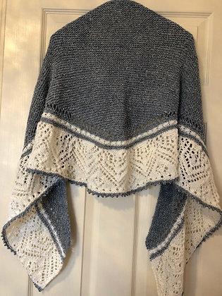"""Châle tricoté """"Victoria"""""""