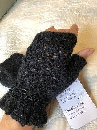 Gants tricotés sans doigts
