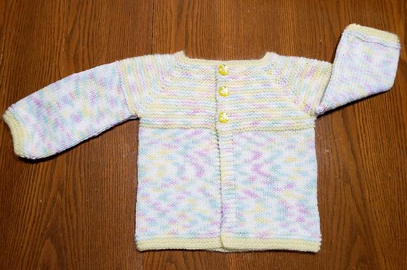 Chandail tricoté 100% acrylique - Les tricots d'Eva