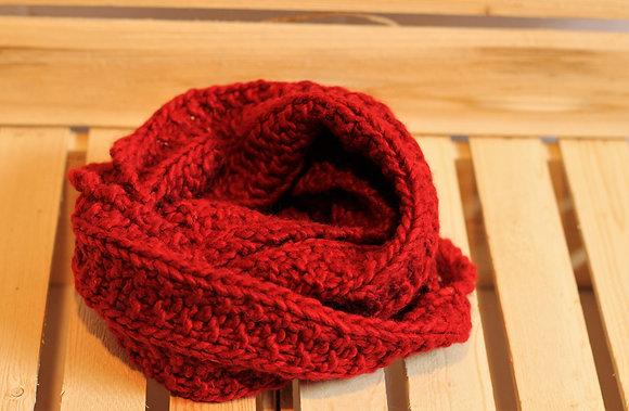 Foulard infinité en fibre d'alpaga