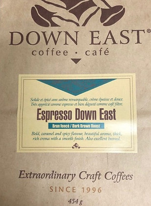Café organique Expresso Down East, 1lb