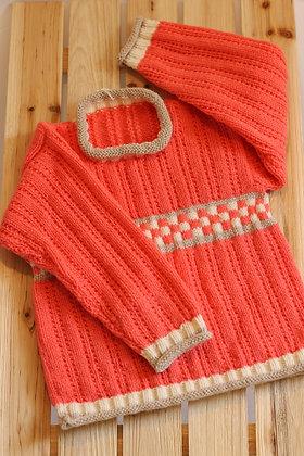 Tricot 100% acrylique - Les tricots d'Eva