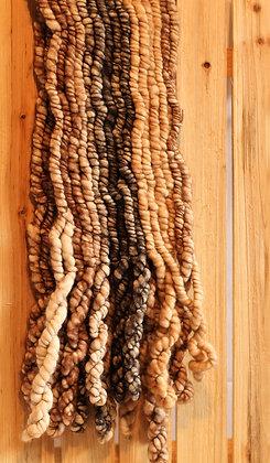 Foulard l'éclaté en fibre d'alpaga - couleurs au choix