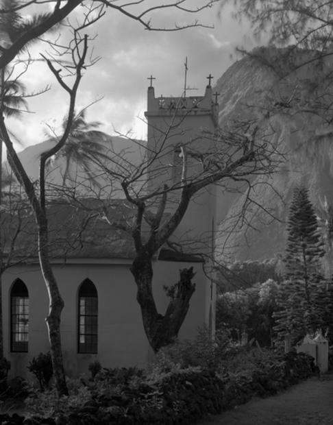 St. Philomena Church Kalawao, 1985 (KAL-1566)