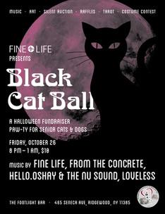 Fine Life Presents Black Cat Ball