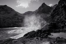 Breaking Wave, Adams Bay, Nihoa (NWB-63)