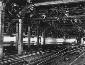 Penn Station, 1981 (T-4102)