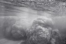 Sand Clouds from Shorebreak (WN-39)