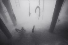 Diving under Pier Scape (E-144)