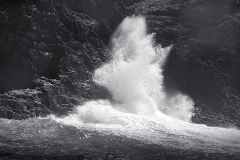 Breaking Wave on Nihoa (NWB-73)