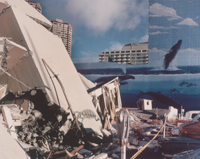 Demolished Building, Waikiki, Hawaii, 1985, (HR-05)