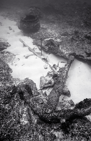 Remnants from the 1822 Wreck of the Pearl, Pearl and Hermes Reef (NWU-61)