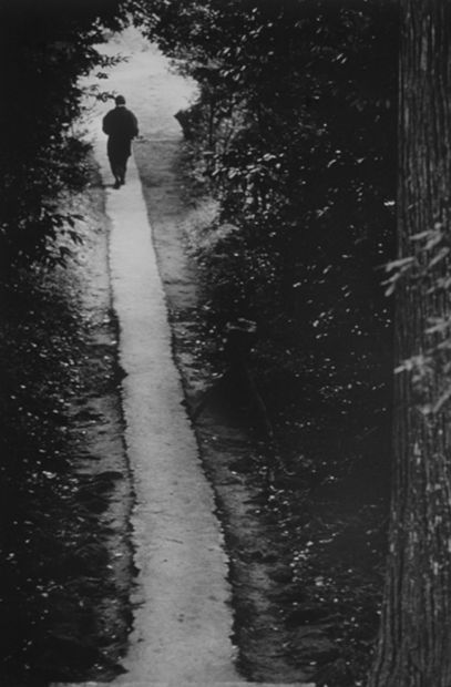 Monk on Path, 1970 (J-70)
