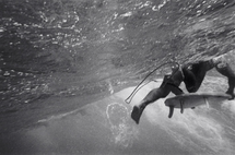 Kicking Through a Wave (S-43)