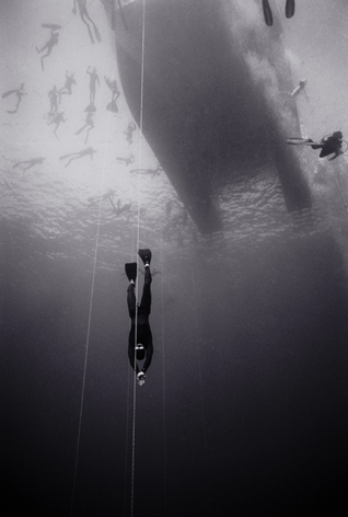 Freediver Martin Stepanek, Pacific Cup of Freediving (B-77)