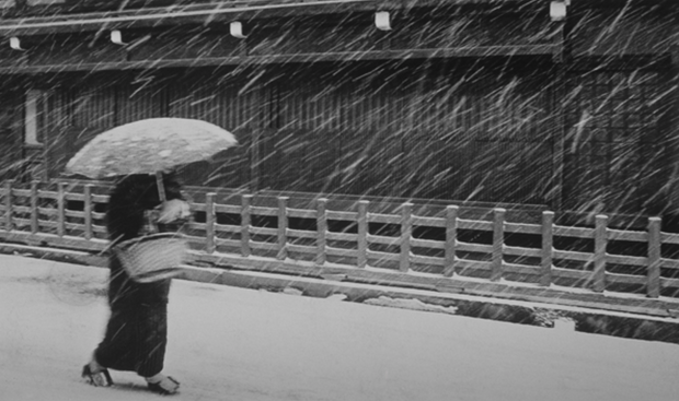 Woman in Snow, Japan, 1971 (J-04)