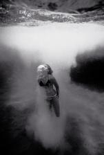 Diving off Waimea Rock #2 (WI-48)