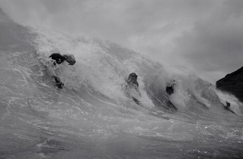 Five Bodysurfers (S-41)