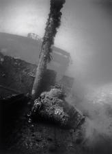 Tank on Deck of Nippo Maru (T-21)