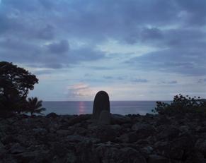Stone Alter, Hikeau Heiau, Hawaii, 1993 (H-51)