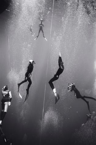 Jean-Pol Surfacing, Pacific Cup of Freediving, Kona, Hawaii (B-81)