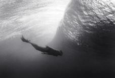 Mark Riding Underwater (B-115)