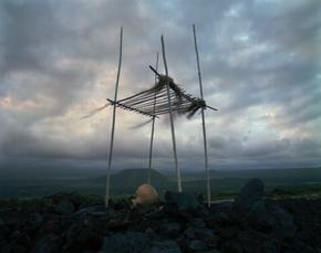 Lele, Punauu Heiau, Hawaii, 1993 (H-33)